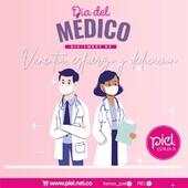 Mencioná a tu médico o médica y dejale un saludo de agradecimiento en su día. 🧡 . Es nuestro deber, hoy más que nunca, respetar, acompañar, agradecer y felicitar ese compromiso. . #graciasmedicos 🙌🏼❤️En este día especial, celebramos y agradecemos a cada médico que desempeña su labor todos los días al servicio de la salud desde el inicio de la pandemia y desde siempre. Gracias por el amor a la vida. ¡Feliz día! 👨⚕️👩⚕️ . . . .  #respeto #diadelmedico #medicos #medicina #medicinacolombia #saludybelelza #salud #bienestar